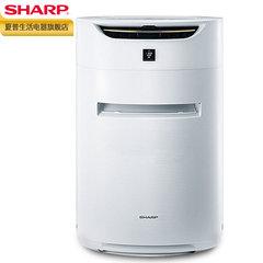 夏普PM2.5空气净化器家用除甲醛异味加湿除烟智能遥控制KI-CE60-W