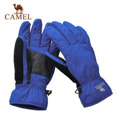 camel骆驼户外手套 保暖手套 男 防割手套户外用品滑雪攀岩手套