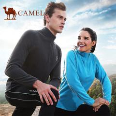 CAMEL骆驼正品户外抓绒衣男女情侣款软壳 加厚摇粒绒卫衣冲锋衣