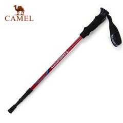 【热销1.9万】骆驼户外登山杖 三节直握柄铝合金徒步专用户外手杖