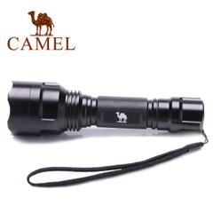camel 骆驼户外装备 强光手电筒充电 远射LED变焦迷你手电筒正品