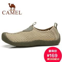 camel骆驼情侣鞋 户外鞋 情侣款徒步鞋 休闲透气鞋旗舰店