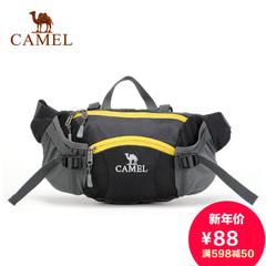camel 骆驼户外腰包 多功能腰包 男女款 休闲单肩包 正品旅游包
