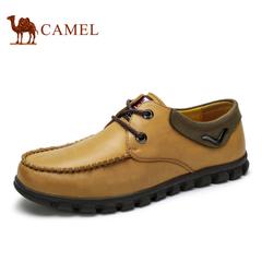 【特价清仓】camel 骆驼男鞋 春季潮鞋日常休闲鞋舒适系带皮男鞋