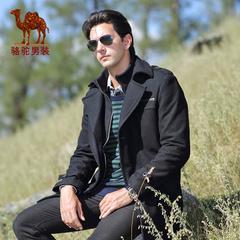 骆驼羊毛呢子大衣男 冬季男士装商务休闲中长款保暖外套