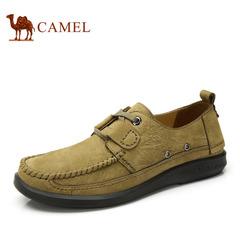 【特价清仓】camel 骆驼男鞋 春季鞋子休闲男鞋牛皮时尚男士皮鞋