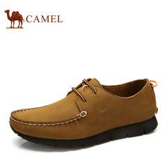 【特价清仓】Camel骆驼男鞋 春季热销舒适休闲皮鞋休闲鞋子系带鞋