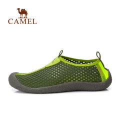 【亲子情侣款】Camel骆驼户外鞋徒步鞋春季男女款透气低帮网鞋