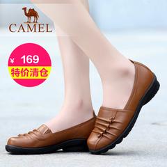 【特价清仓】Camel 骆驼女鞋夏季舒适日常休闲女单鞋浅口休闲单鞋