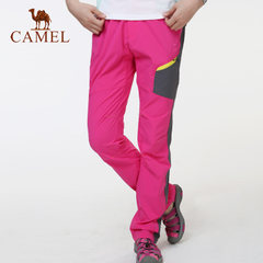 CAMEL骆驼户外速干裤 夏季女士透气快干速干裤 女速干长裤