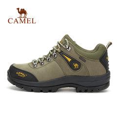 CAMEL骆驼户外 时尚防水牛皮徒步户外登山男鞋