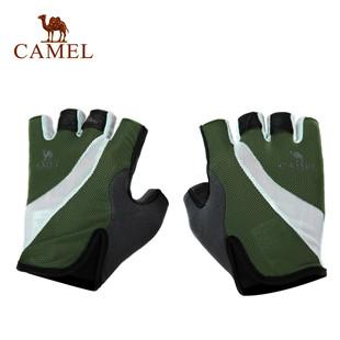 骆驼户外 手套半指骑行手套 户外防滑耐磨手套 3S20105