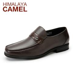 喜马拉雅骆驼 新款真皮牛皮商务正装男士皮鞋 流行耐磨高档男鞋子