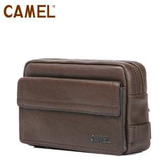 Camel骆驼商务男士手包 长款钱包男包拉链手拿包手抓包