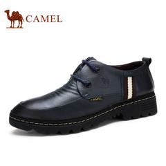 【特价清仓】Camel 骆驼男鞋春季韩版潮流舒适男士皮鞋休闲鞋
