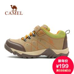 Camel 骆驼户外鞋儿童鞋秋季徒步鞋 青少年防滑耐磨登山鞋休闲鞋