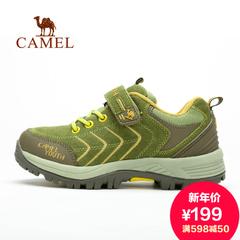 Camel 骆驼男鞋户外鞋童款徒步鞋 春夏舒适防滑耐磨儿童登山鞋