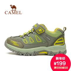 Camel 骆驼户外童款徒步鞋 秋季青少年儿童防滑耐磨徒步鞋