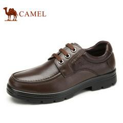 Camel/骆驼男鞋 真皮商务休闲鞋 百搭舒适男士皮鞋耐磨爸爸鞋