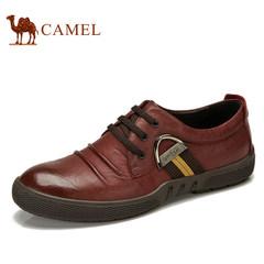 CAMEL骆驼男鞋 春季日常休闲男士皮鞋子头层牛皮鞋耐磨舒适
