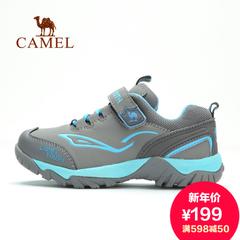 Camel 骆驼儿童款徒步鞋 冬季款青少年日常出游防滑徒步鞋