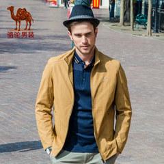 骆驼春装新款夹克男男士日常休闲立领jacket外套男