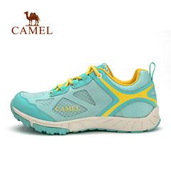 【断码清仓】CAMEL骆驼户外女款徒步鞋 网面低帮透气耐磨徒步鞋