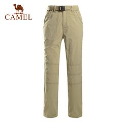 CAMEL骆驼户外女速干裤 2015夏季出游快干透气女士款速干裤 正品
