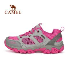 CAMEL骆驼户外徒步鞋 春季女网布防滑耐磨鞋运动旅游鞋