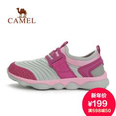 Camel 骆驼童鞋 男女童登山鞋 儿童运动鞋 户外运动 耐磨徒步鞋