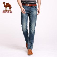 Camel骆驼 春季新款时尚青年热卖青春流行休闲男士中腰牛仔裤