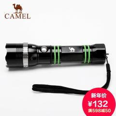 CAMEL骆驼户外手电筒 强光远射变焦充电手电筒 露营迷你铝合金