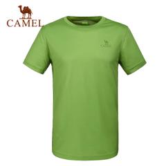 CAMEL骆驼户外速干T恤 春夏男徒步 透气短袖速干衣快干T恤正品