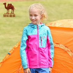 骆驼童装 儿童风衣 男女童运动休闲风衣 春青少年风衣