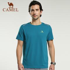 CAMEL骆驼户外速干T恤男款 2015春夏新款男士短袖透气速干衣正品