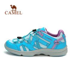 【断码清仓】CAMEL骆驼户外女款徒步鞋 网面透气耐磨 休闲徒步鞋