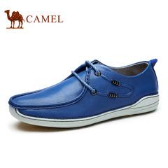 Camel 骆驼男鞋 英伦日常休闲皮鞋男鞋 春季休闲鞋男低帮系带男鞋