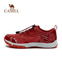 【断码清仓】骆驼户外徒步鞋 春夏款网面透气耐磨出游徒步女鞋