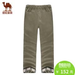 小骆驼童装春夏儿童棉质休闲长裤青少年男童女童户外运动裤