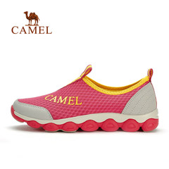 CAMEL骆驼户外女款徒步鞋 春夏透气网布耐磨出游徒步户外鞋女