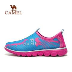 【断码清仓】CAMEL骆驼户外徒步鞋 女透气网布耐磨缓震徒步鞋