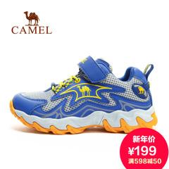 CAMEL骆驼户外徒步鞋童鞋 新款青少年童鞋 轻便防滑耐磨鞋子