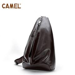 骆驼新款 男士百搭胸包 欧美时尚户外休闲斜背包胸包 旅游斜挎包