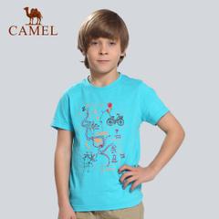 CAMEL骆驼户外童装休闲T恤 2015春夏上新青少年儿童款短袖T恤