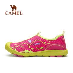 【断码清仓】骆驼户外徒步鞋  春夏女款透气网布耐磨出游徒步鞋