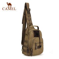 Camel骆驼户外单肩背包 徒步旅游斜挎包 登山出游包 男女款