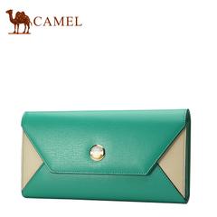 CAMEL骆驼 牛二层横款时尚甜美女包潮流手包多功能包钱包