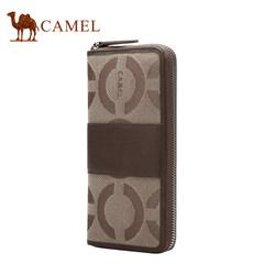 【清仓】骆驼男女手拿包横款时尚手抓包大容量休闲男女包提花包包