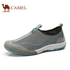骆驼户外徒步鞋 男鞋春夏新款户外鞋 网鞋超轻透气鞋网面鞋