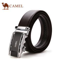 【清仓】Camel骆驼男士皮带牛皮自动扣腰带时尚商务休闲青年裤带
